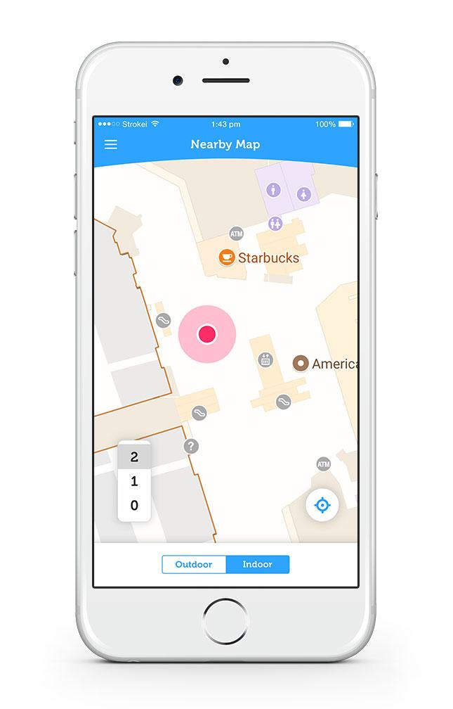Event App Map